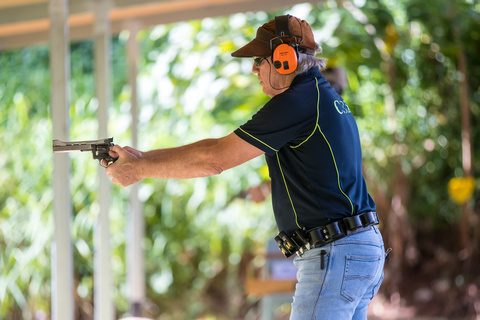 target pistol shoot